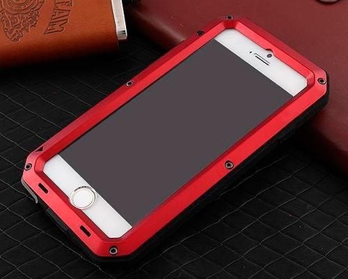 iRon Armor Series iPhone 6 Plus Metal Case (5.5 inches) - Red