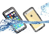 Waterproof Series iPhone 6 Plus PC Case (5.5 inches) - Black