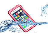 Waterproof Series iPhone 6 Plus and 6S Plus PC Case - Red