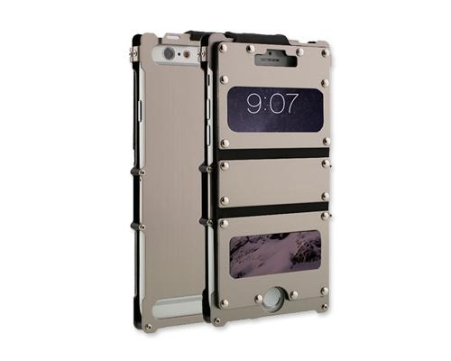 Armor King Series iPhone 6 Plus Aluminium Case (5.5 inches) - Silver