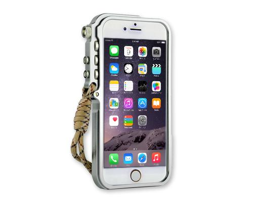 Trigger Arm Series iPhone 6 Plus Bumper Aluminum Case - Silver