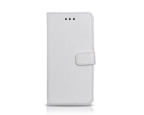 Fold Series iPhone 6 Plus and 6S Plus Flip Leather Case - White