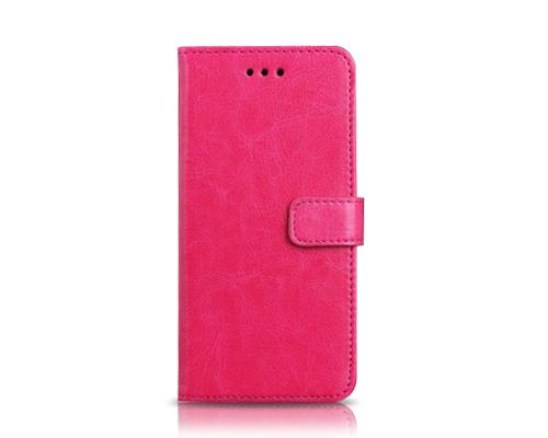 Fold Series iPhone 6 Plus Flip Leather Case (5.5 inches) - Magenta