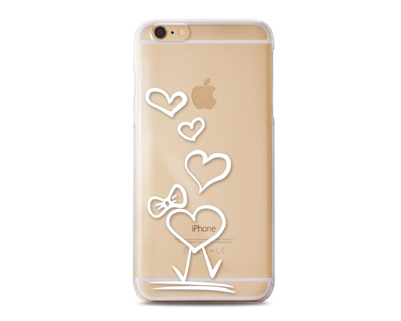 Penetrate Series iPhone 6 Plus Case (5.5 inches) - Cute Hearts A