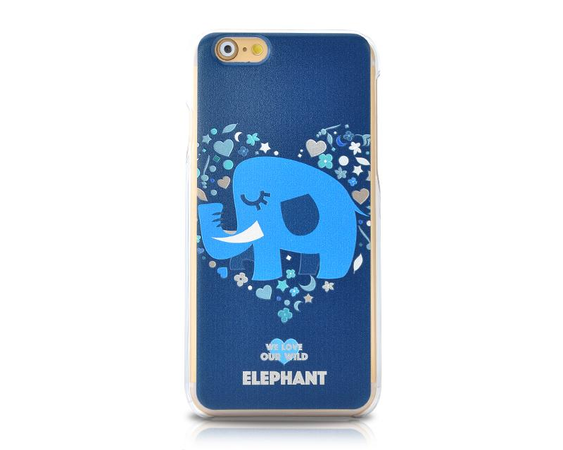 We Love Our Wild Series iPhone 6 Plus and 6S Plus Case - Elephant
