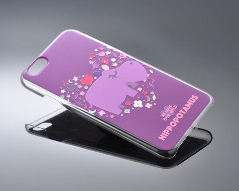 We Love Our Wild Series iPhone 6 Plus and 6S Plus Case - Hippopotamus
