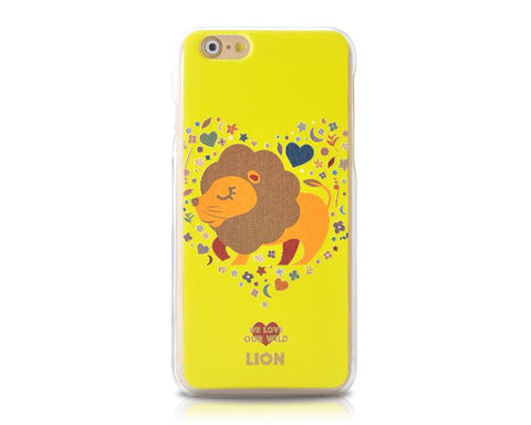 We Love Our Wild Series iPhone 6 Plus Case (5.5 inches) - Lion