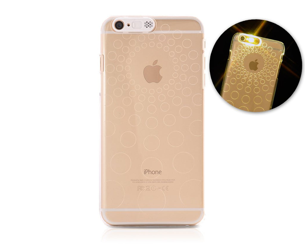 Flashing Series iPhone 6 Plus and 6S Plus Clear Case - Circle