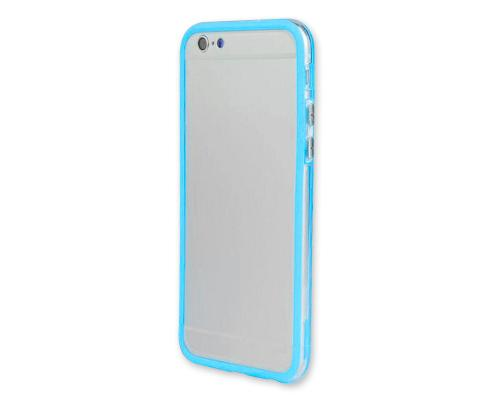 Bumper-Advanced Series iPhone 6 Plus and 6S Plus Silicone Case - Blue