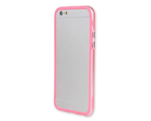 Bumper-Advanced Series iPhone 6 Plus and 6S Plus Silicone Case - Pink