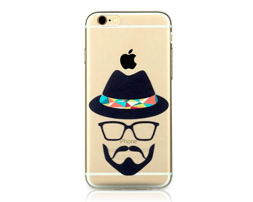 Painted Series iPhone 6 Plus Case (5.5 inches) - Bearded Man