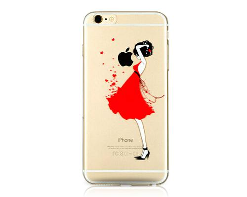 Painted Series iPhone 6 Plus Case (5.5 inches) - Fashion Girl