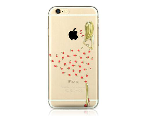 Painted Series iPhone 6 Plus Case (5.5 inches) - Flowered Dress