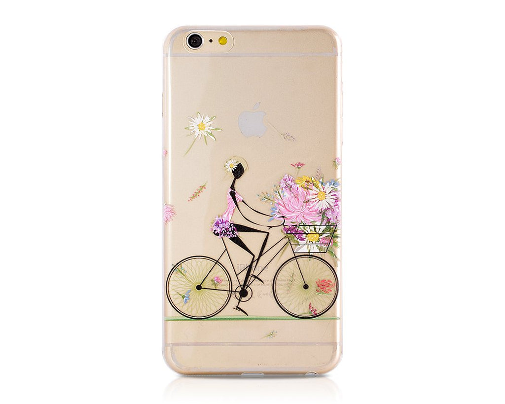 Painted Series iPhone 6 Plus and 6S Plus Case - Cycling Girl