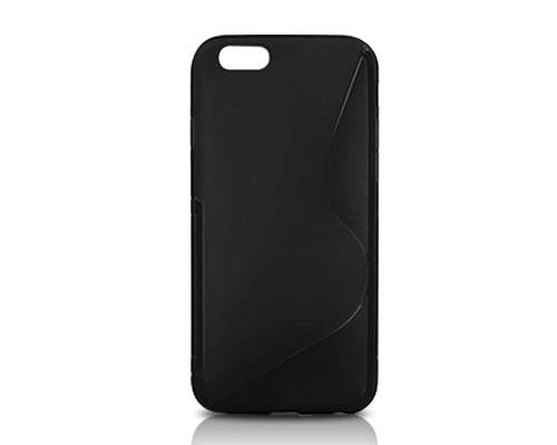 S-Line Series iPhone 6 Plus and 6S Plus Silicone Case - Black