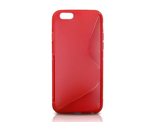 S-Line Series iPhone 6 Plus and 6S Plus Silicone Case - Red