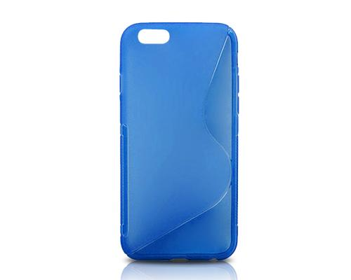 S-Line Series iPhone 6 Plus and 6S Plus Silicone Case - Blue