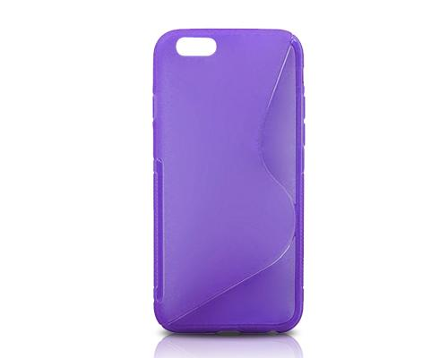 S-Line Series iPhone 6 Plus and 6S Plus Silicone Case - Purple