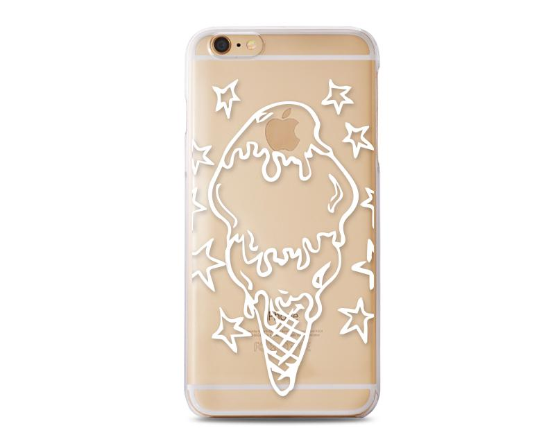 Penetrate Series iPhone 6 and 6S Case - I Love Ice Cream