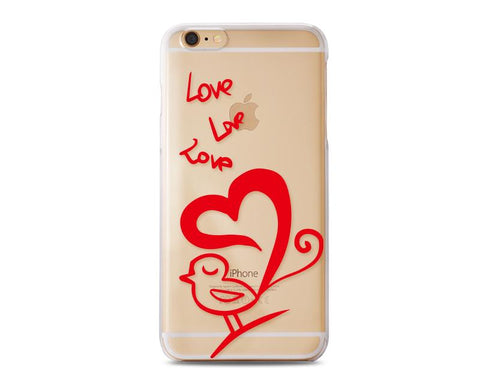 Penetrate Series iPhone 6 and 6S Case - Lovely Bird
