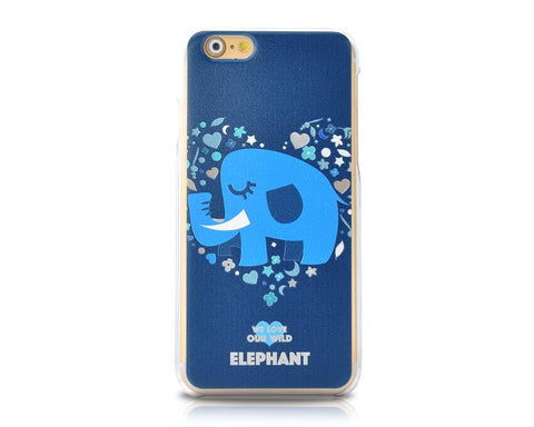 We Love Our Wild Series iPhone 6 Case (4.7 inches) - Elephant