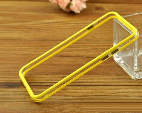 Bumper-Advanced Series iPhone 6 Silicone Case (4.7 inches) - Yellow