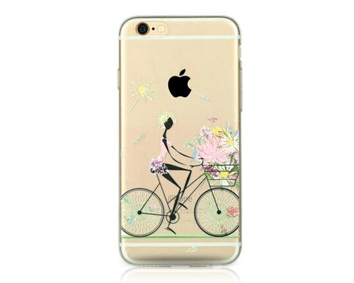 Painted Series iPhone 6 and 6S Case - Cycling Girl