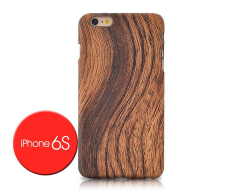 Wooden Series iPhone 6 and 6S Case - Brown