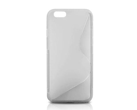 S-Line Series iPhone 6 and 6S Silicone Case - Transparent
