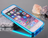 Bumper Series iPhone 6 and 6S Metal Case - Blue