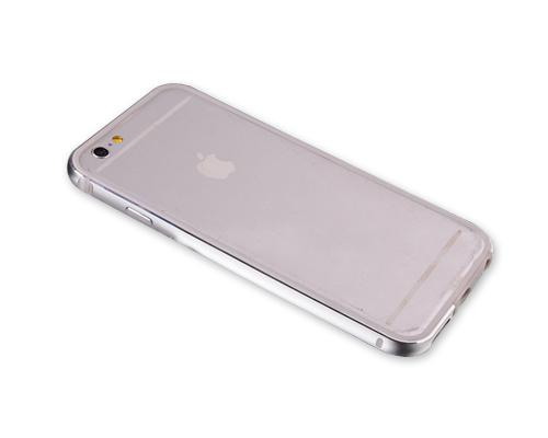 Bumper Series iPhone 6 and 6S Metal Case - Silver