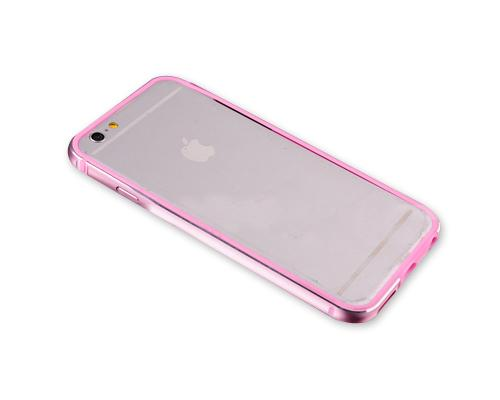 Bumper Series iPhone 6S Metal Case - Pink