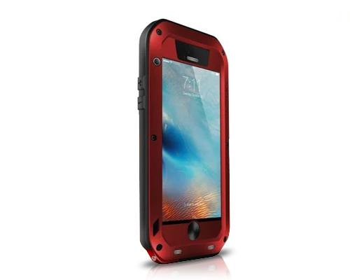 Waterproof Series iPhone 6 and 6S Metal Case - Red
