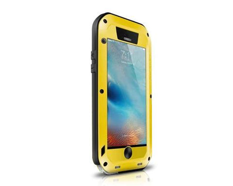 Waterproof Series iPhone 6 and 6S Metal Case - Yellow