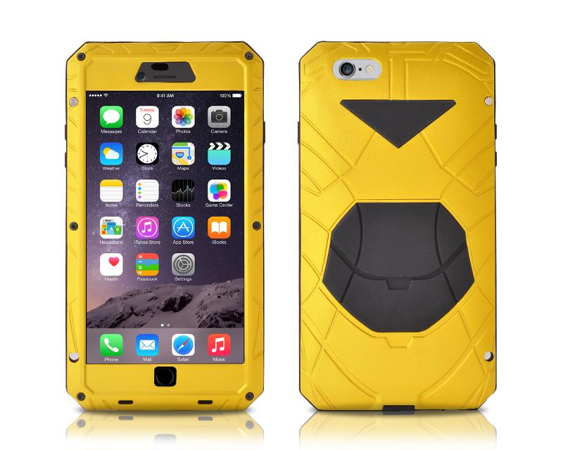 Armor Series iPhone 6 and 6S Metal Case - Yellow