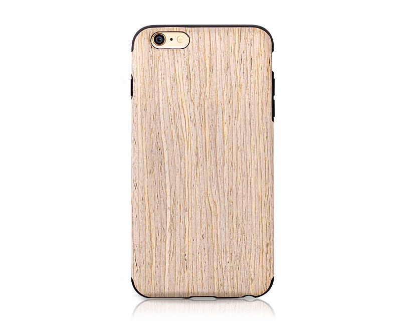 Hybrid Wooden Series iPhone 6 Plus and 6S Plus Case - Walnut