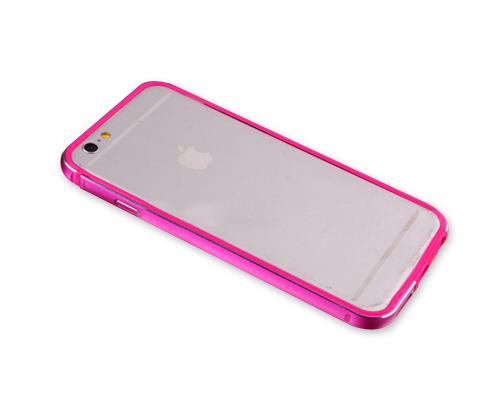 Bumper Series iPhone 6S Plus Metal Case - Magenta