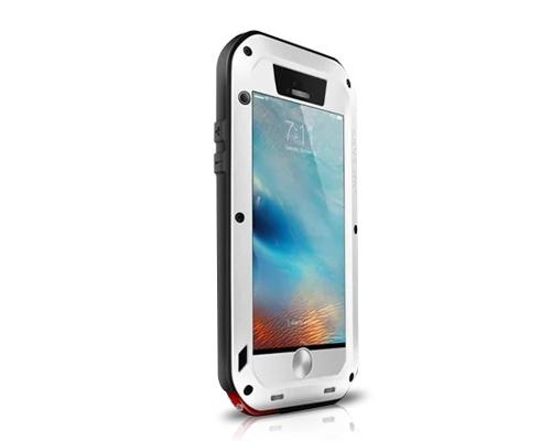 Waterproof Series iPhone 6 and 6S Plus Metal Case - White