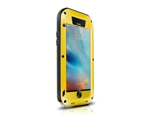 Waterproof Series iPhone 6 and 6S Plus Metal Case - Yellow