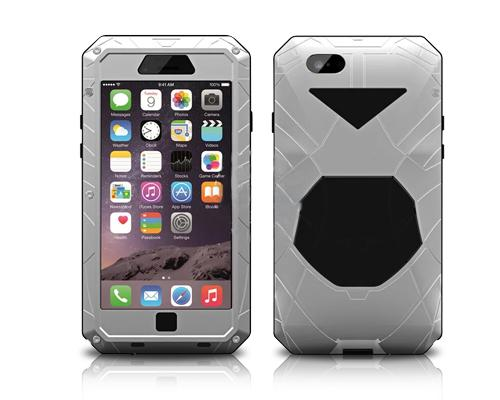 Armor Series iPhone 6S Plus Metal Case - Silver