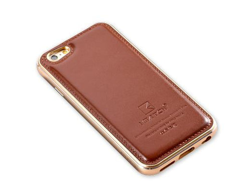Seam Series iPhone 6S Plus Genuine Leather Case