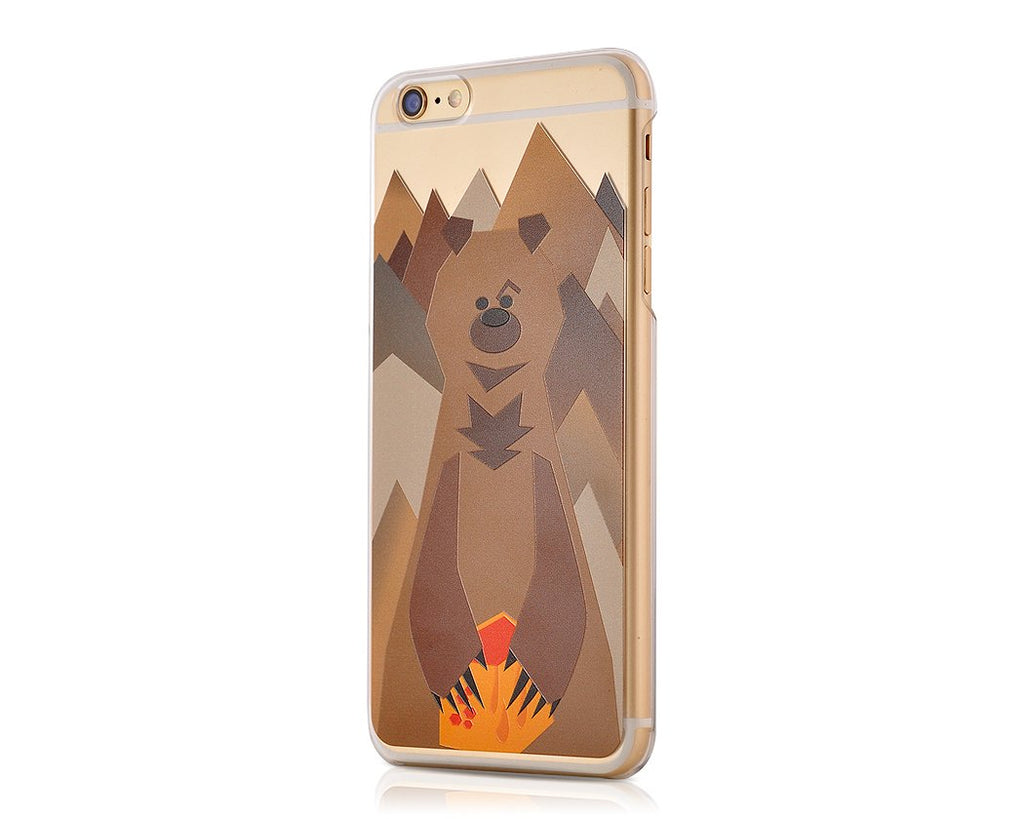 Mr. Bear Series iPhone 6S Plus Case - Brown Bear