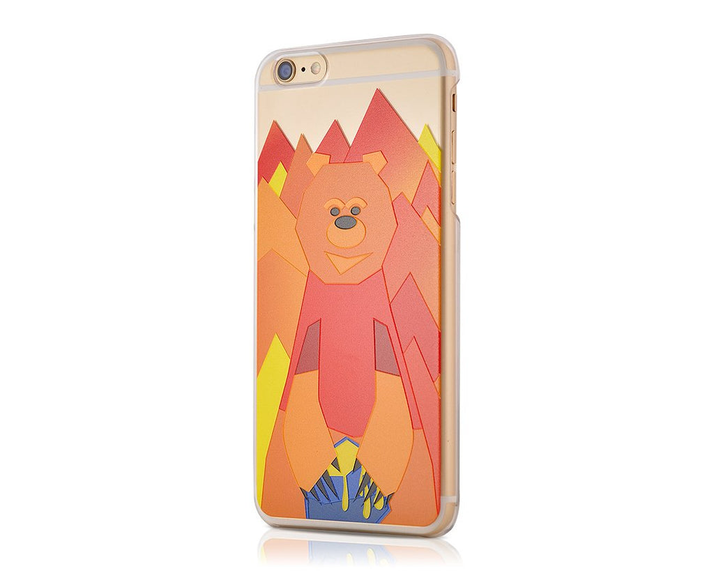 Mr. Bear Series iPhone 6S Plus Case - Poon