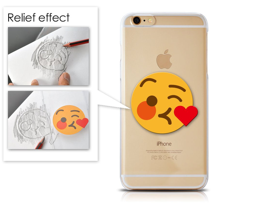 Emoji Series iPhone 6 Plus and 6S Plus Case - Kissing Wink