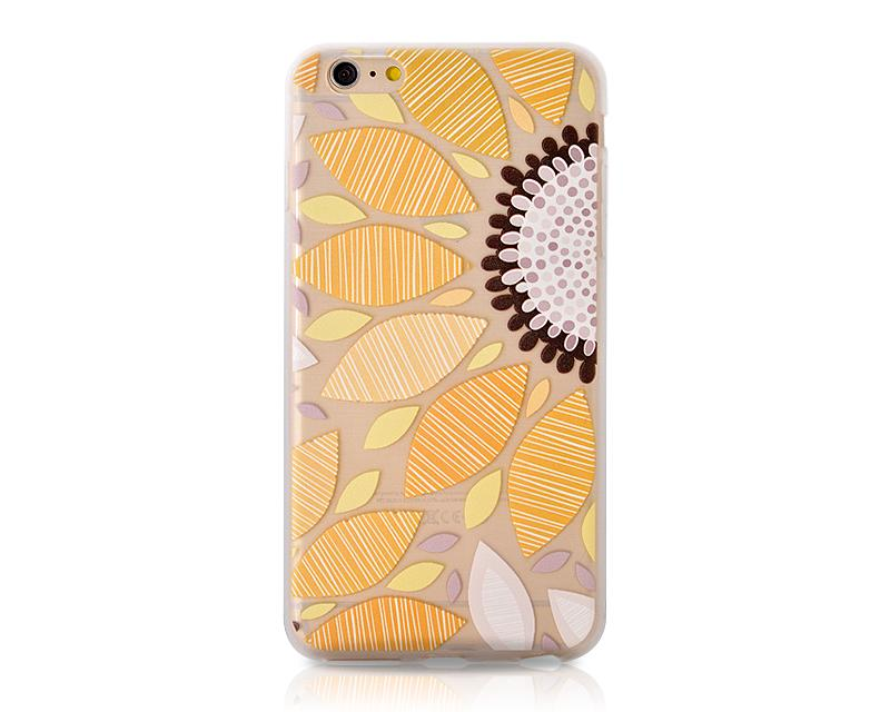 Painted Series iPhone 6 Plus and 6S Plus Case - Sunflower