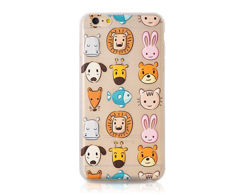 Painted Series iPhone 6S Plus Case - Zoo