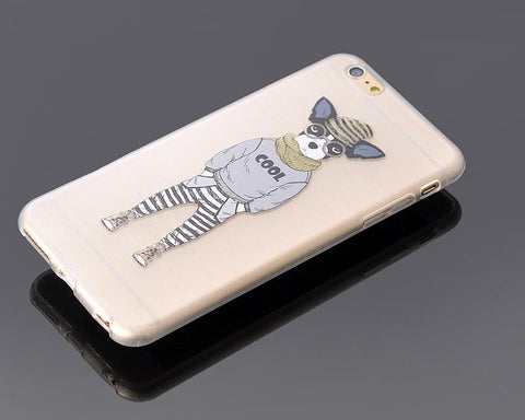 Painted Series iPhone 6 Plus and 6S Plus Case - Dog