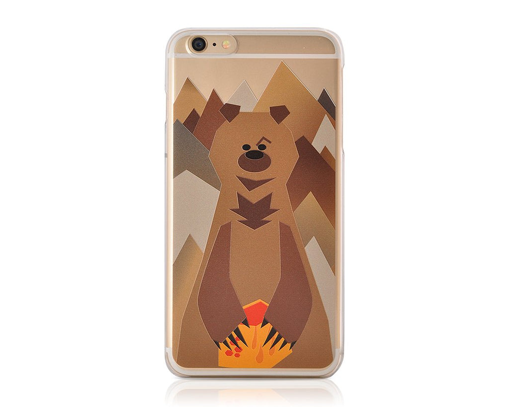 Mr. Bear Series iPhone 6 and 6S Case - Brown Bear
