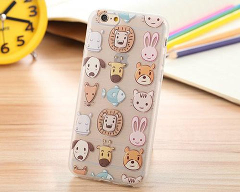 Painted Series iPhone 6S Case - Zoo