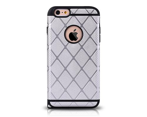 Lattice Series iPhone 6 and 6S Case - Silver